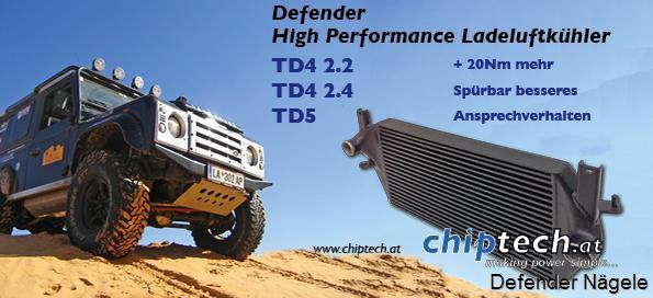 Speed Unlimiter Defender TD4 2,4 l